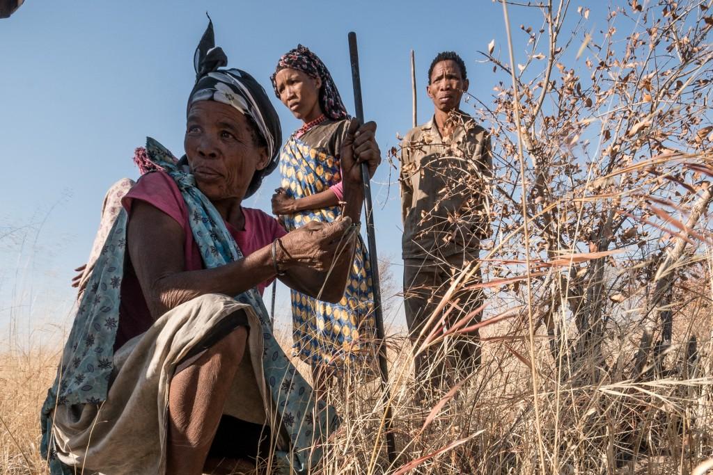 Namibia - femei bosimane 2