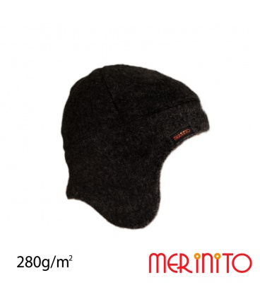 Caciula copii Soft Fleece 100% lana merinos