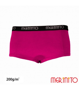 "Lenjerie dama ""Hot pants"" 100% merino 200g"
