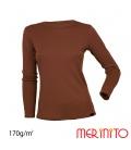 Bluza dama 100% lana merinos 170g/mp