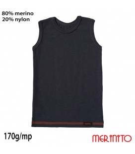 Maiou copii Vintage Denim 80%merino 20%nylon