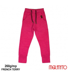 Pantalon Jogger copii French Terry 260g