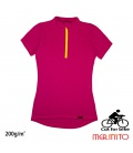 Tricou dama Merinito Cut For Bike 200g 100% lana merinos