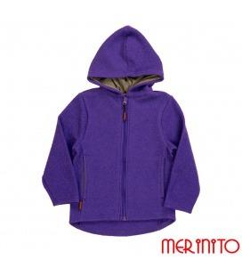 Jacheta copii din lana fiarta