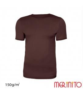 Tricou barbati Merinito 150g 100% lana merinos