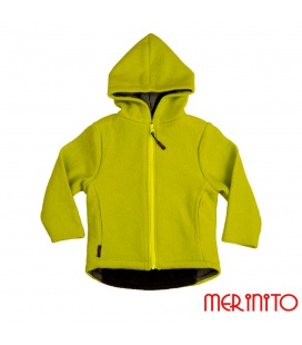 Jacheta copii din lana fiarta + Merino Pluș