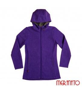 Jacheta dama din lana fiarta