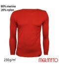 Bluza barbateasca 100% lana merinos 230 g/mp