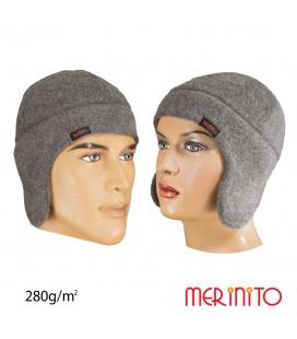 Caciula unisex Soft Fleece 100% lana merinos