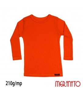 Bluza copii Merinito Rib Pointelle 100% lana merinos