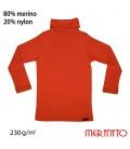 Bluza Turtleneck  230g 100% lana merinos