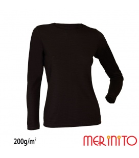 Bluza dama Merinito 200g 100% lana merinos