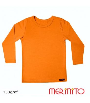 Bluza copii 100% merino 150 g/mp
