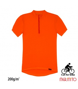 Tricou barbati Merinito Cut For Bike 200g 100% lana merinos