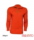 "Bluza barbateasca ""Sport Zip"" 200g/mp"
