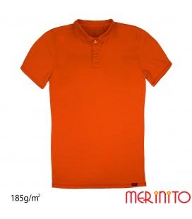 Tricou barbatesc Polo Jersey cu maneca scurta 185g/mp