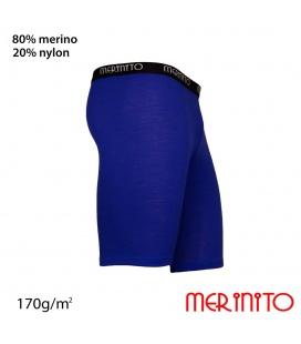 Colanti scurti barbati Merinito 170g lana merinos