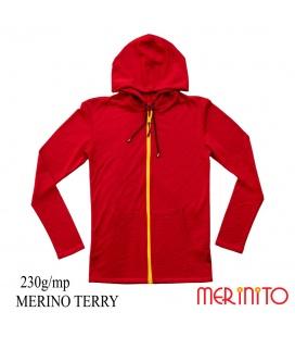 Hanorac barbatesc 230g 100% Merino Terry