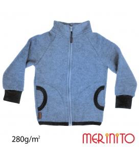 Jacheta copii Merinito Soft Fleece lana merinos