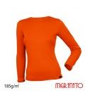 Bluza dama Merinito 185g 100% lana merinos