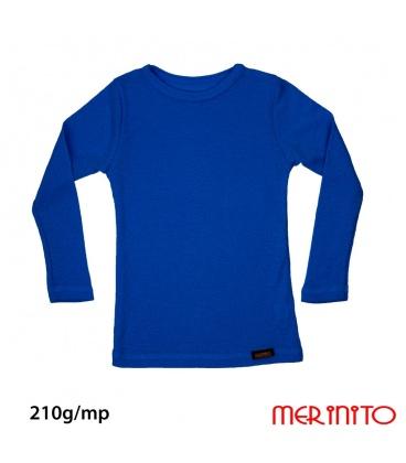 Bluza copii  Rib Pointelle 210g 100% merino