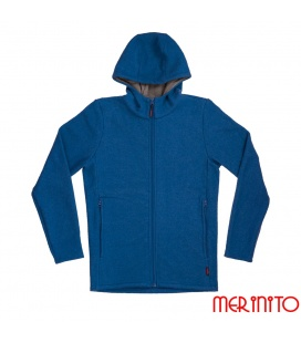 Jacheta barbateasca din lana fiarta