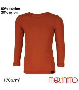 Bluza copii lana merinos 170g/mp