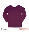 Bluza copii 230g/mp lana merinos