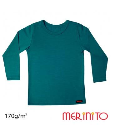 Tricou maneca lunga 170g pentru copii