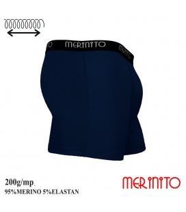 Lenjerie barbati Merinito Boxer Briefs 200g 95% lana merinos 5% elastan