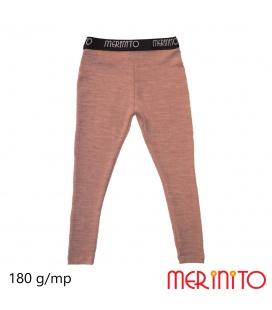 Colanti copii Merinito Rib Pointelle 100% lana merinos