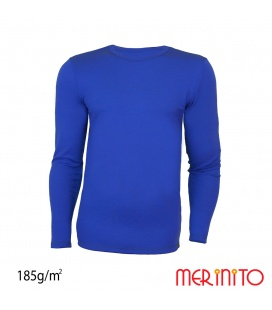 Bluza barbati Merinito 185g 100% lana merinos