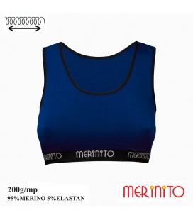Bustiera Merinito 200g 95% lana merinos 5% elastan