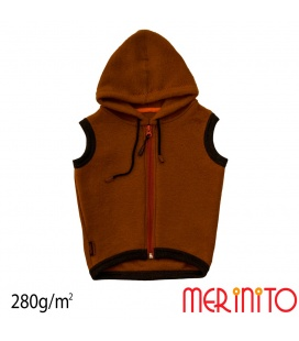 Vesta copii Merinito Soft Fleece 100% lana merinos