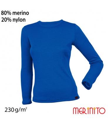 Bluza dama 100% lana merinos 230 g/mp