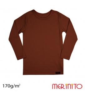 Bluza copii Merinito 170g lana merinos