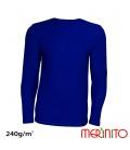 Bluza barbateasca merino + bambus 240g /mp