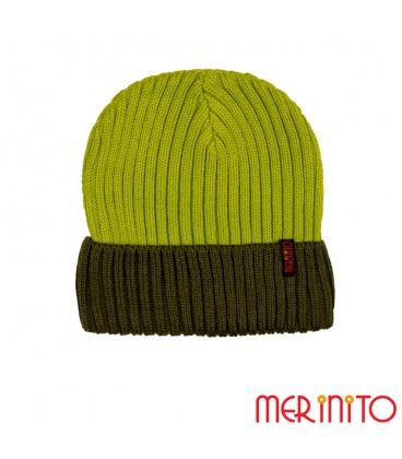 Caciula unisex Merinito Duo-Color Beanie 50% lana merinos