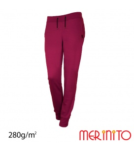 Pantaloni dama Merinito Jogger 280g 100% lana merinos