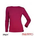 Bluza dama 100% lana merinos 200g/mp
