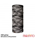 Neck Tube Merinito Double Mesh 60% lana merinos 40% poliester