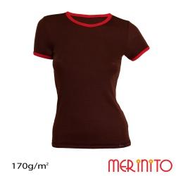 Tricou dama bicolor 170g