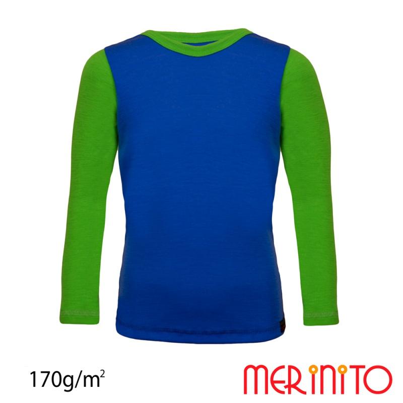 Merino wool t shirt fot kids long sleeve yellow for Yellow t shirt for kids