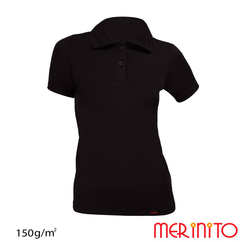 Tricou Polo Merino 150g