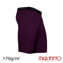 Colant scurt barbatesc  lana merinos 170g/mp