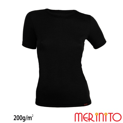 Tricou maneca scurta dama 200g/mp