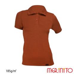 Tricou dama Merinito Polo Jersey 185g 100% lana merinos