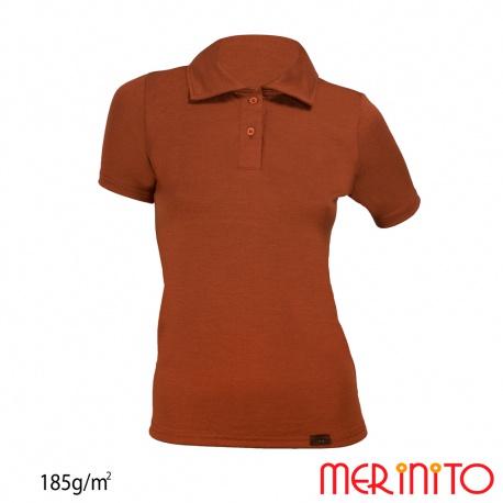 Tricou dama Polo Jersey cu maneca scurta 185g/mp