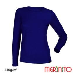 Bluza dama Merinito 240g lana merinos si bambus