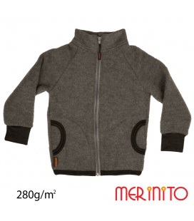 Jacheta copii Merinito Soft Fleece lana merinos